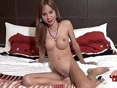 She has been a ladyboy since the age of 10. She is very popular in her bar so it is wise to get there early if you want to meet her